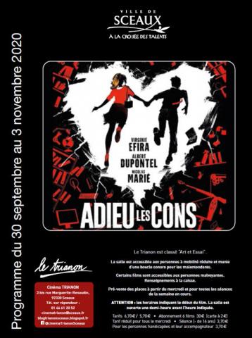 Programme du cinéma Trianon  Sceaux